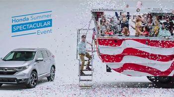 Honda Summer Spectacular Event TV Spot, 'Parade' [T2] - Thumbnail 9