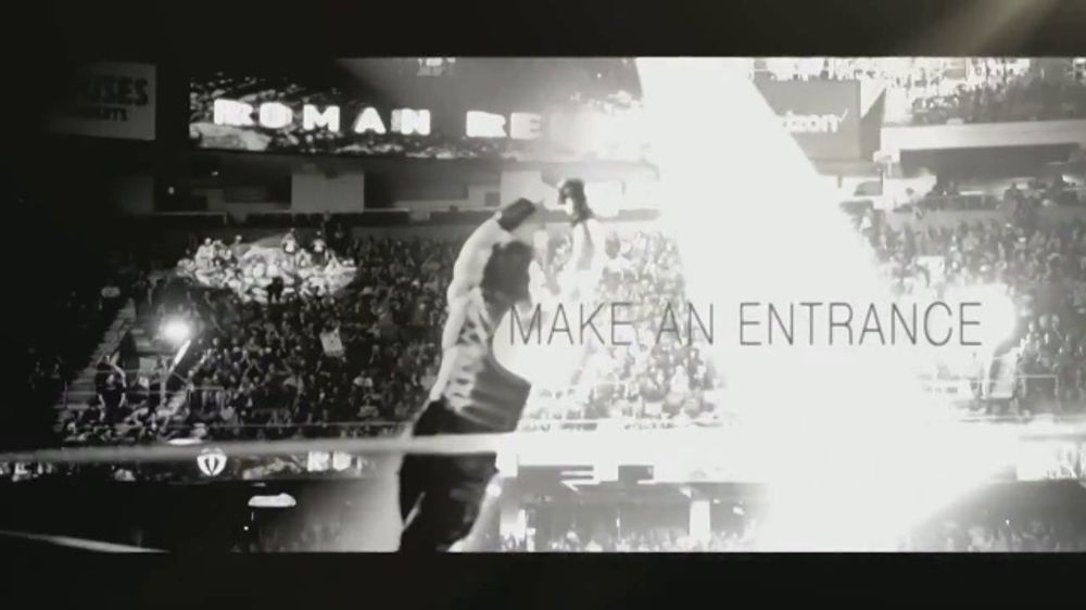 WWE Shop TV Commercial, 'Make an Entrance: Buy One, Get One for $1' Featuring Roman Reigns