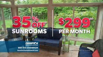 Champion Windows TV Spot, 'Sunrooms: Dream Home' - Thumbnail 3