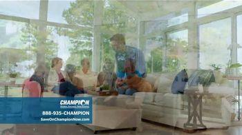 Champion Windows TV Spot, 'Sunrooms: Dream Home' - Thumbnail 4