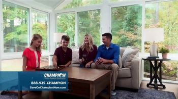 Champion Windows TV Spot, 'Sunrooms: Dream Home' - Thumbnail 5