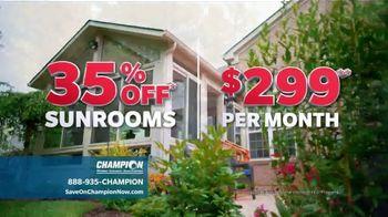 Champion Windows TV Spot, 'Sunrooms: Dream Home' - Thumbnail 8