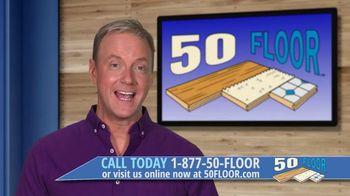 50 Floor TV Spot, 'ABC 9: Free Installation' - Thumbnail 2