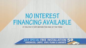 50 Floor TV Spot, 'ABC 9: Free Installation' - Thumbnail 9