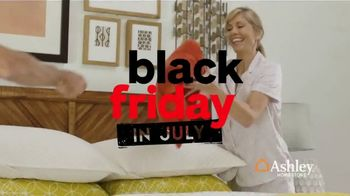 Ashley HomeStore Black Friday in July TV Spot, 'Chime Mattress' Song by Midnight Riot - Thumbnail 3