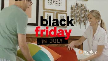 Ashley HomeStore Black Friday in July TV Spot, 'Chime Mattress' Song by Midnight Riot - Thumbnail 4