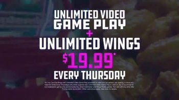 Dave and Buster's TV Spot, 'Unlimited Games and Wings Thursdays' - Thumbnail 5