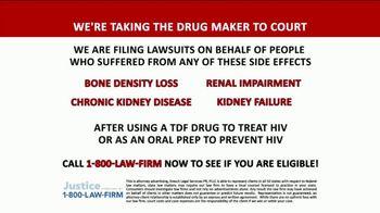 1-800-LAW-FIRM TV Spot, 'TDF Drug' - Thumbnail 1