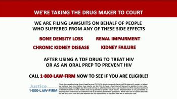 1-800-LAW-FIRM TV Spot, 'TDF Drug' - Thumbnail 3