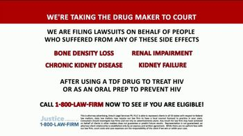 1-800-LAW-FIRM TV Spot, 'TDF Drug'