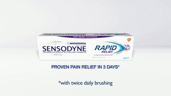 Sensodyne Rapid Relief TV Spot, 'How to Treat Sensitive Teeth Fast' - Thumbnail 7