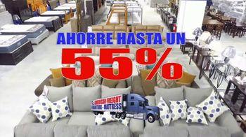 American Freight Gran Venta Multimillonaria TV Spot, 'Ahorre cientos' [Spanish]