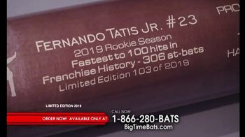Big Time Bats TV Spot, 'Fernando Tatis Jr. Victus Bat' - 14 commercial airings
