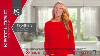 KetoLogic TV Spot, 'Tabitha: The Weight Just Fell Off'