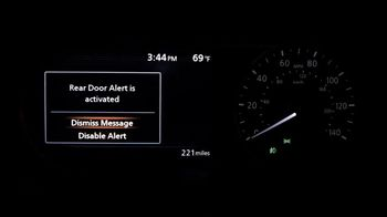 Nissan Versa TV Spot, 'Rear Door Alert: Heat Stroke' [T1] - Thumbnail 3