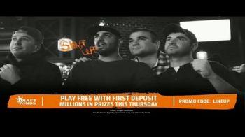 DraftKings TV Spot, 'The Thursday Night Sweat: Panthers vs Bucs' - Thumbnail 3