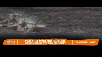 DraftKings TV Spot, 'The Thursday Night Sweat: Panthers vs Bucs' - Thumbnail 5