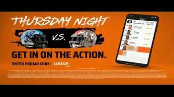 DraftKings TV Spot, 'The Thursday Night Sweat: Panthers vs Bucs' - Thumbnail 8