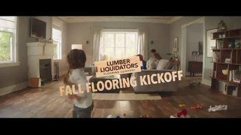 Lumber Liquidators Fall Flooring Kickoff TV Spot, 'Vinyl Flooring and Hardwoods'
