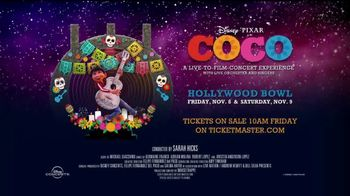 Hollywood Bowl TV Spot, '2019 Coco: Live-to-Film Concert Experience' Song by Benjamin Bratt - Thumbnail 7