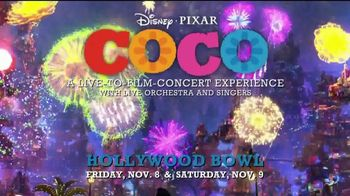 Hollywood Bowl TV Spot, '2019 Coco: Live-to-Film Concert Experience' Song by Benjamin Bratt