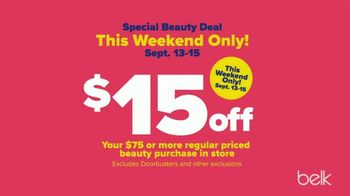Belk Fall Fashion Sale TV Spot, 'Tommy Hilfiger, Free Gift and Beauty'