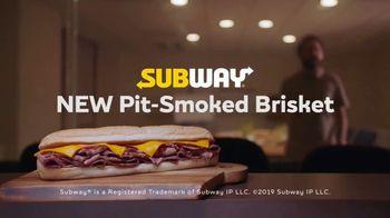 Subway Pit-Smoked Brisket TV Spot, 'Focus Group' - Thumbnail 10