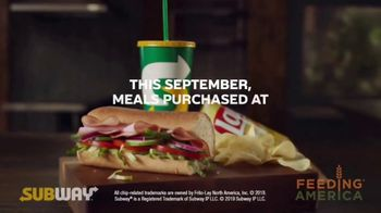 Feeding America Hunger Action Month TV Spot, 'Subway' - Thumbnail 5