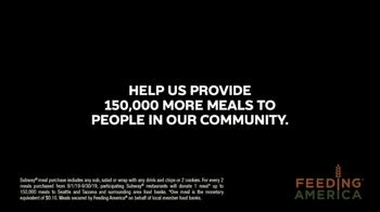 Feeding America Hunger Action Month TV Spot, 'Subway' - Thumbnail 8