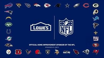 Lowe's TV Spot, 'All Season Long: Greenhouse' Featuring Rodney Harrison, Chris Simms - Thumbnail 8