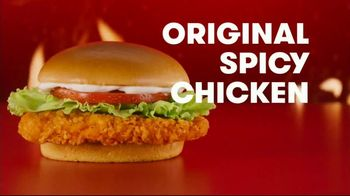 Wendy's Spicy Chicken Nuggets and Sandwich TV Spot, 'The People Have Spoken' - Thumbnail 6