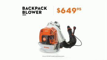 STIHL TV Spot, 'Leaf Blowers' - 1 commercial airings