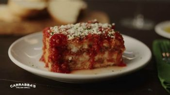 Carrabba's Grill $10 Take Home Meal TV Spot, 'Lasagna' - Thumbnail 2