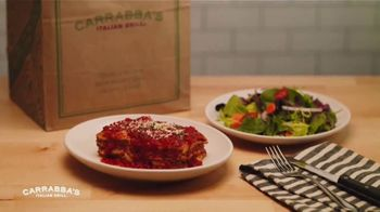 Carrabba's Grill $10 Take Home Meal TV Spot, 'Lasagna'