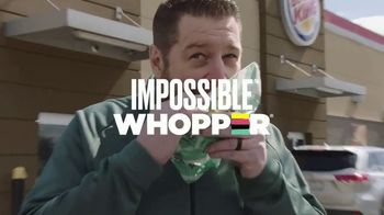 Burger King Impossible Whopper TV Spot, 'Patty Made from Plants: DoorDash' - Thumbnail 2