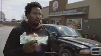 Burger King Impossible Whopper TV Spot, 'Patty Made from Plants: DoorDash' - Thumbnail 5