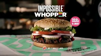 Burger King Impossible Whopper TV Spot, 'Patty Made from Plants: DoorDash' - Thumbnail 8
