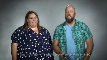 XFINITY X1 TV Spot, 'NBC: This Is Us' Featuring Chrissy Metz, Chris Sullivan - 74 commercial airings