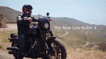 2020 Harley-Davidson Low Rider S TV Spot, 'Tasted Wind'