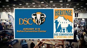 DSC Heritage Convention & Sporting Expo TV Spot, '2020 Dallas: Dallas Convention Center'