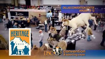 DSC Heritage Convention & Sporting Expo TV Spot, '2020 Dallas: Dallas Convention Center' - 82 commercial airings