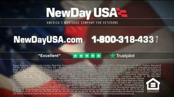 NewDay USA VA Cash Out Home Loan TV Spot, 'Peace of Mind' - Thumbnail 6