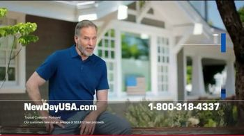 NewDay USA VA Cash Out Home Loan TV Spot, 'Peace of Mind' - Thumbnail 3