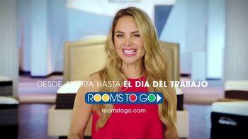 Rooms to Go TV Spot, 'Día del trabajo: cambia tu forma de dormir' con Ximena Córdoba [Spanish] - Thumbnail 9