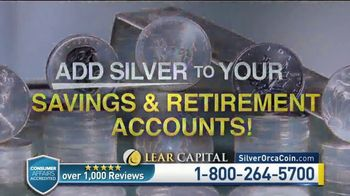 Lear Capital TV Spot, 'Two Ounce Silver Orca: Ten Ounce Limited Time Offer' - Thumbnail 6