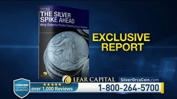 Lear Capital TV Spot, 'Two Ounce Silver Orca: Ten Ounce Limited Time Offer' - Thumbnail 7