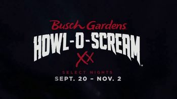 Busch Gardens Howl-O-Scream TV Spot, 'All Hell is Breaking Loose'