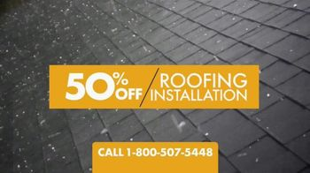 1-800-HANSONS End of Summer Roofing Sale TV Spot, '50% Off and Free Tablet' - Thumbnail 2