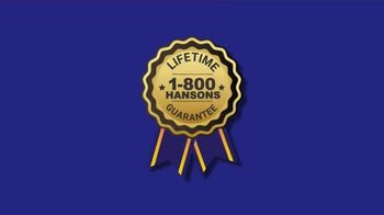 1-800-HANSONS End of Summer Roofing Sale TV Spot, '50% Off and Free Tablet' - Thumbnail 3