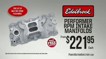 PowerNation Directory TV Spot, 'Manifolds, Bolt Kits, Tires and Brake Kits'